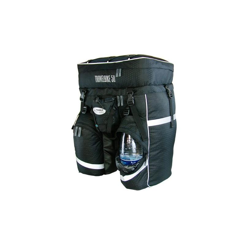 Рюкзак для велотуризма Terra Incognita Travelbike 50 (чёрный)